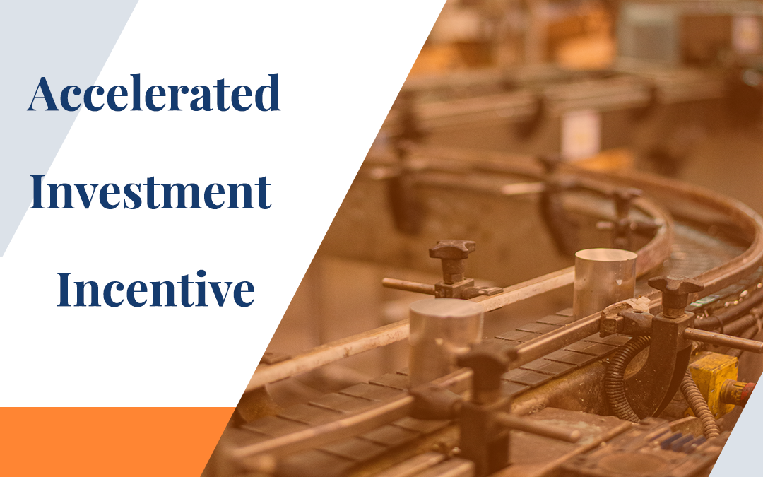 Accelerated Investment Incentive