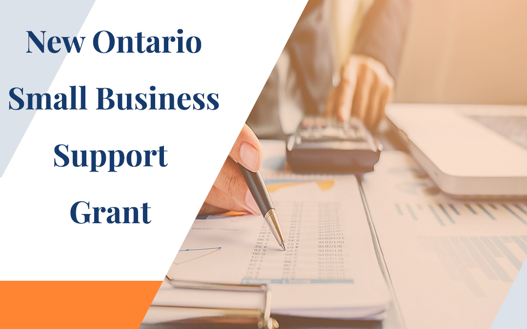 New Ontario Small Business Support Grant